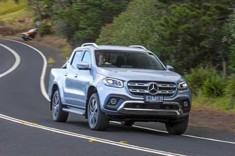 The Mercedes-Benz X-Class in range-topping Power specification.