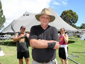 Outback legend: Monto prepares to host the best show in town
