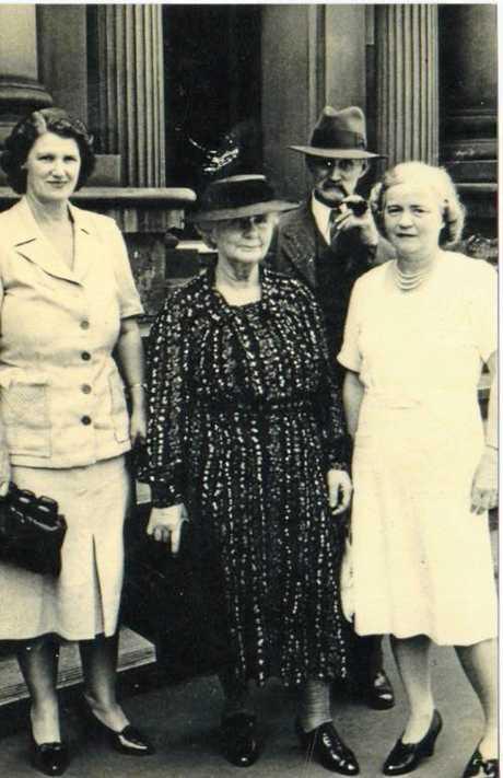 Eleanor Torta shared old photos of her grandmother Amelia Elizabeth Jones.