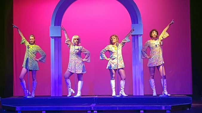 THEY ARE BACK: Mel Strawbridge, Helen Jarvis, Jo Fletcher and Candace Baldwin in The Marvellous Wonderettes : Dream On.