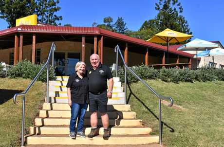 PHOENIX: Carol and Doug Greensill are selling the rebuilt Kandanga Hotel after owning it for the past three-and-a-half years.