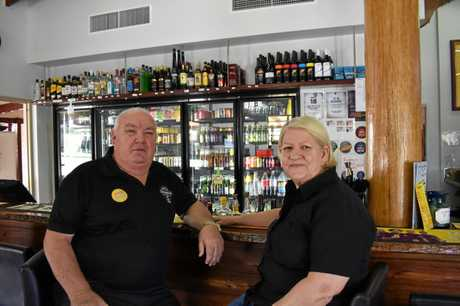 Carol and Doug Greensill are selling the rebuilt Kandanga Hotel after owning it for the past 3-and-a-half years.