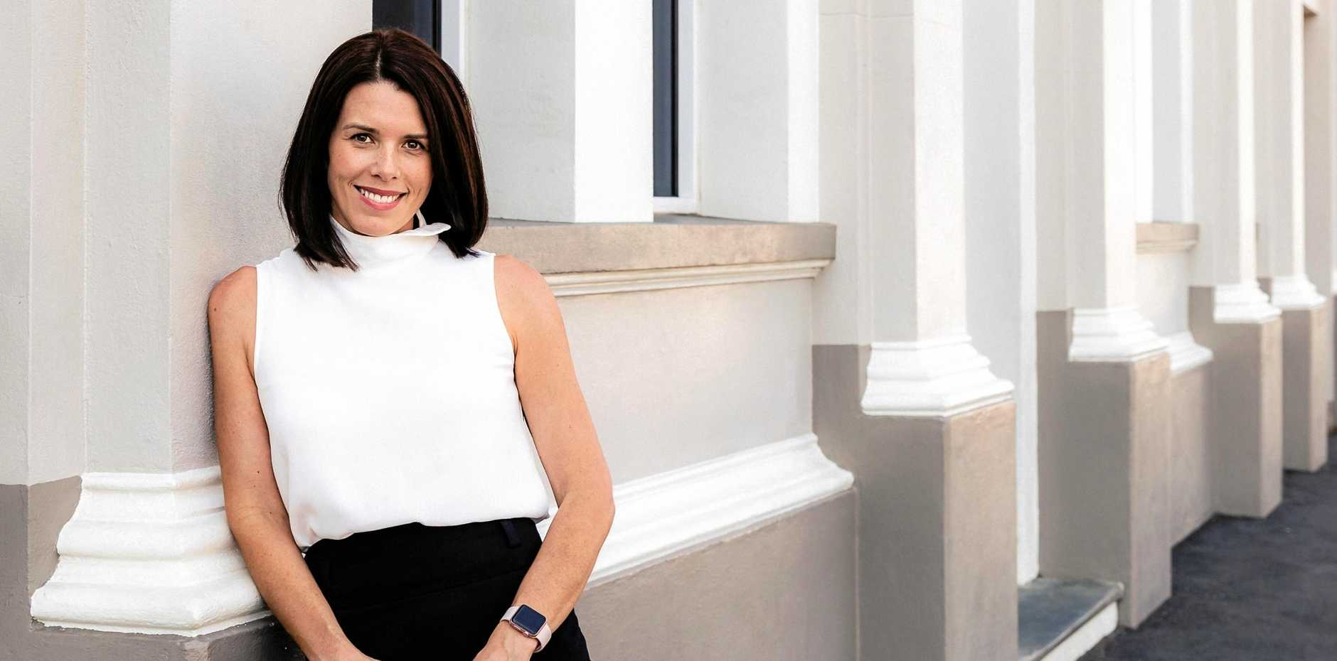 GREAT IDEA: Slater Solutions chief executive officer Brooke Brandon is leading the tech charge with a revolutionary new app.