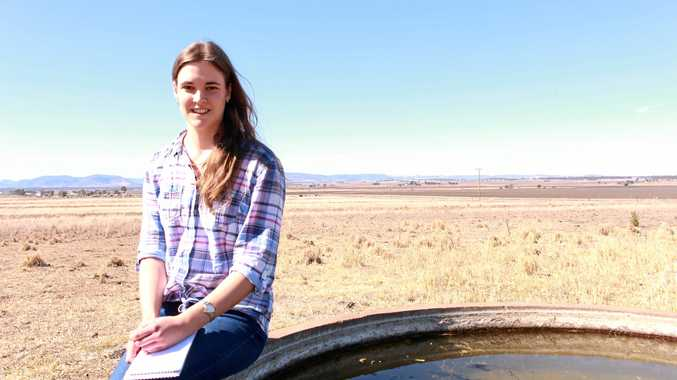 HOPE: Melanie uses passion to deliver message to farmers.