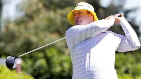 Qld Open golf pro am. Jarrod Lyle. Pic Mark Caleja
