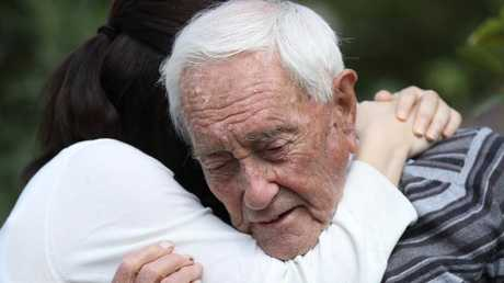 Australian academic David Goodall had to leave Australia to end his life. He died in Switzerland by voluntary euthanasia in May this year at 104 years old. (Pic: Sean Gallup/Getty)