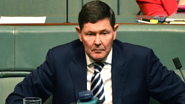 Kevin Andrews led the federal move to override the NT's Rights of the Terminally Ill Act. (Pic: Mick Tsikas/AAP)