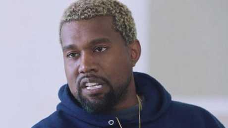 The erratic rap superstar.