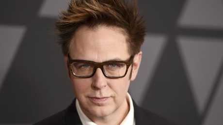 Gunn lost his job directing one of Hollywood's biggest franchises over the offensive tweets. Picture: AP