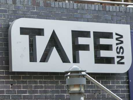 Thomson said TAFE qualifications are just as good as bachelor degrees. Picture: Dylan Robinson