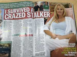 Magazine article proves killer's lies