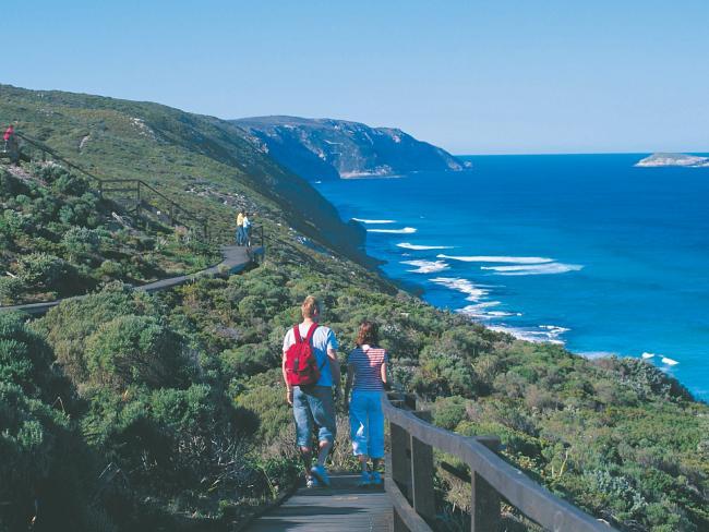 The Bibbulmun Track stretches for 1000km. Picture: Tourism Western Australia