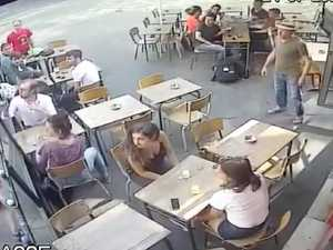 Man hits woman in the face after wolf whistling