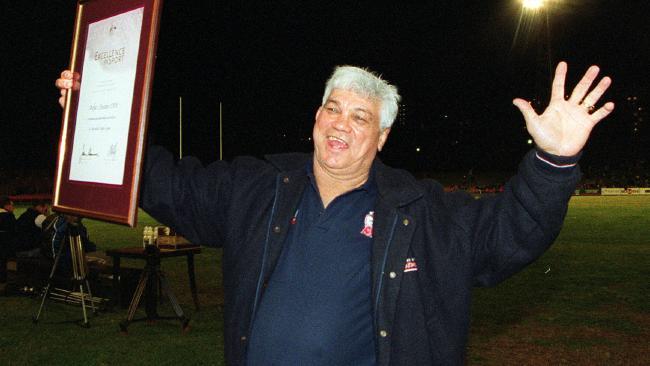 Beetson was inducted in 2003. (Guy Wilmott)