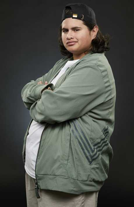 NZ actor Julian Dennison fronts a new campaign for Lynx Australia where he throws shade at the ball-tampering scandal. Picture: Supplied