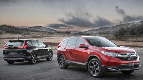 All-rounder: The CR-V is a well rounded mid-size SUV.