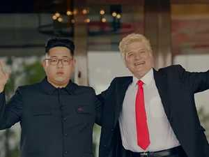 K-Pop star's cheeky video mocks Trump and Kim