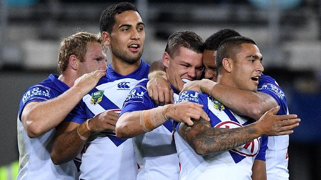 The Bulldogs are planning to put the bite on their finals-bound rivals. Picture: AAP