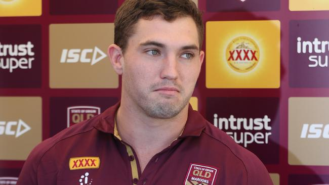Corey Oates is a valued member of the Queensland State of Origin side. Picture: Peter Wallis