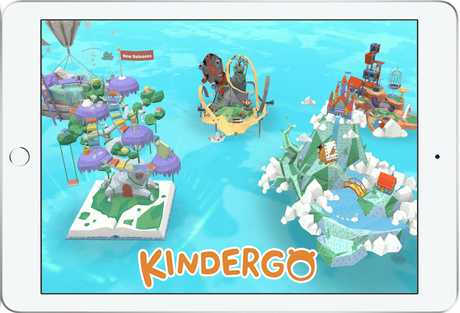 Kindergo might be a better way to make good use of an iPad for younger children.