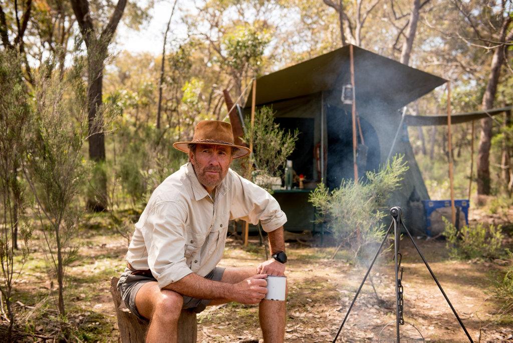 Glenn Robbins returns as Russell Coight in All Aussie Adventures.