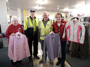 Lending a hand at Vinnies on Ruthven St