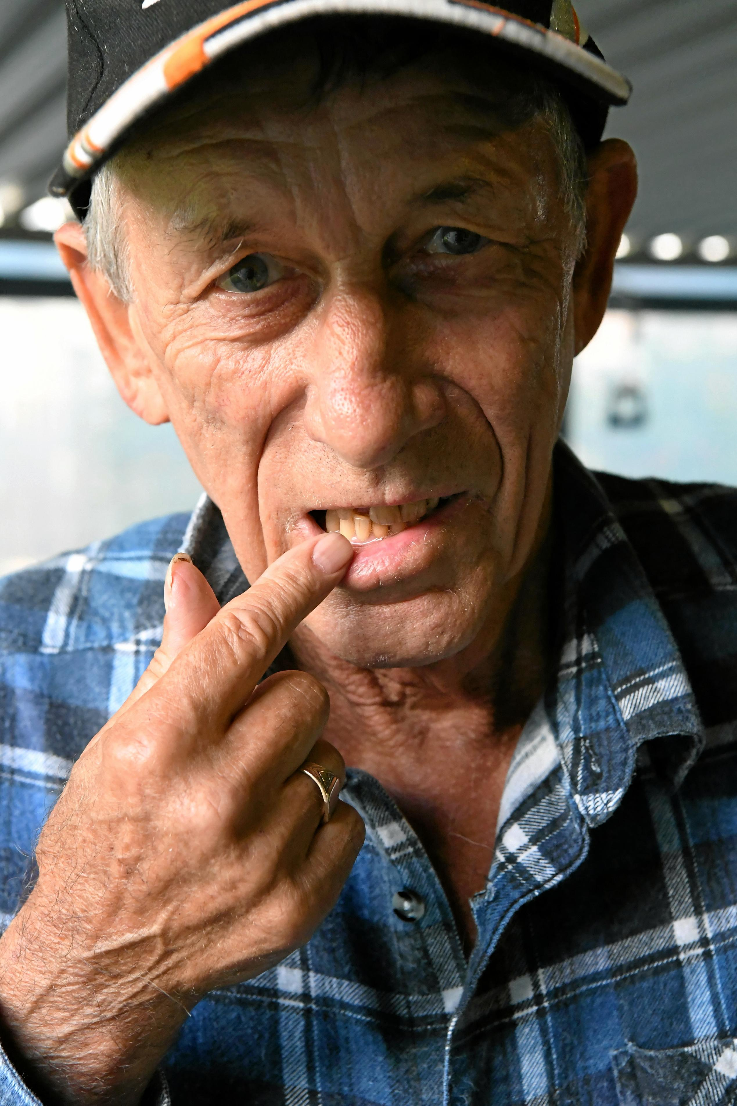 Larry Clyde has been waiting for twenty-six months to see a dentist.