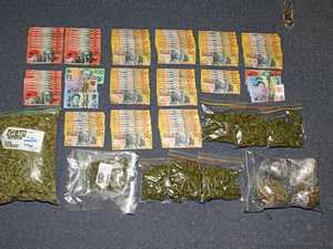Police seize 1kg of drugs and $5000 cash from search