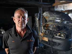 Family business starts over after fire tears through shed