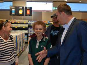 Angus becomes first customer in Aldi Dalby