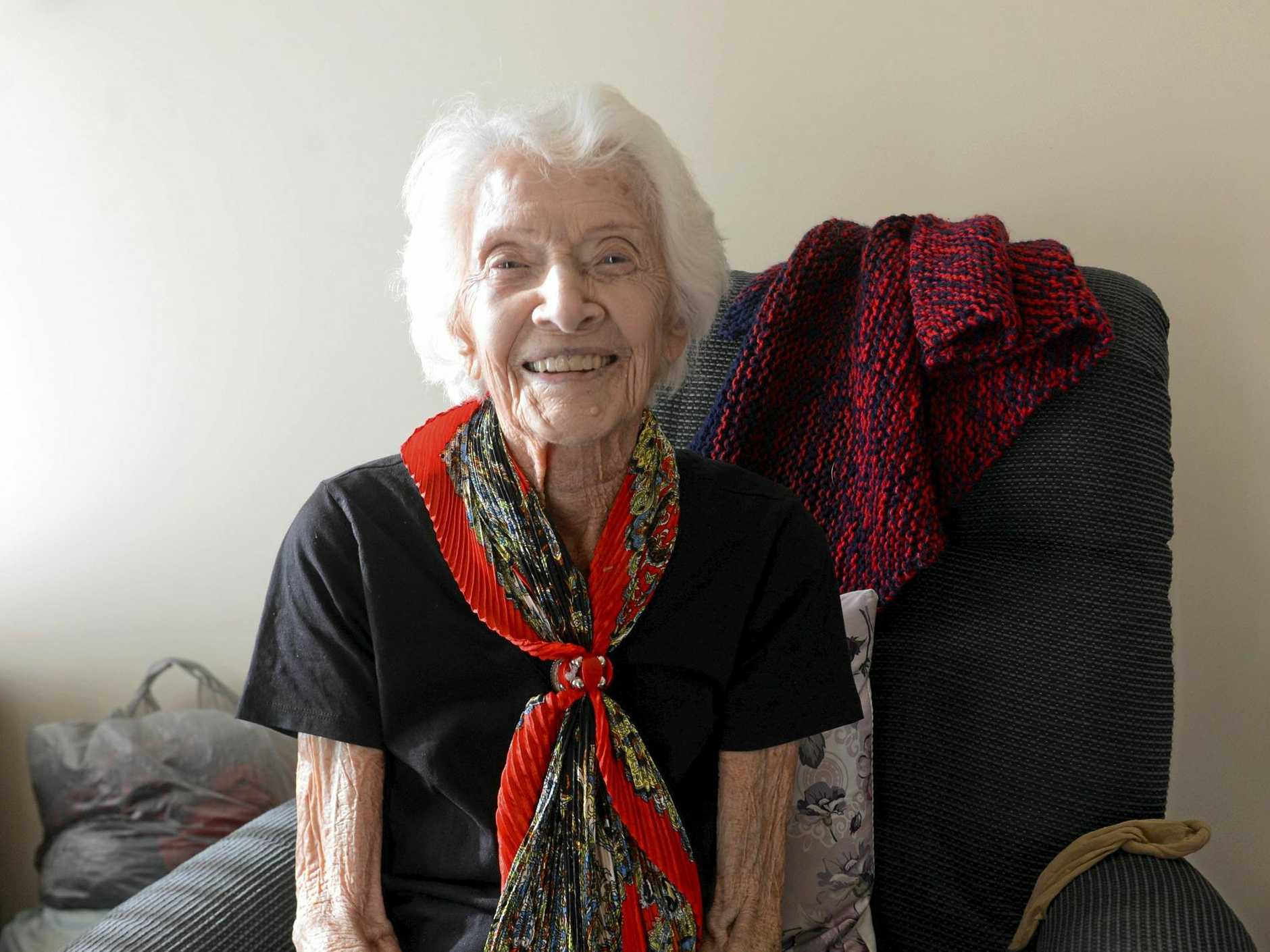 PLENTY OF STORIES: Winifred Matilda Chevalley is celebrating her 106th birthday this month.