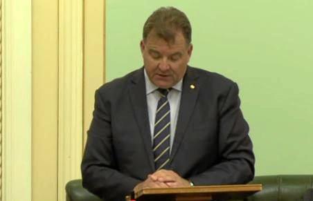 Shadow Child Safety Minister Stephen Bennett.