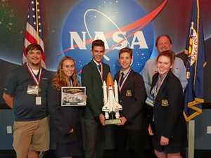 Bundy kids take out international space comp
