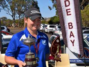 Kingaroy hosts state's best young golfers