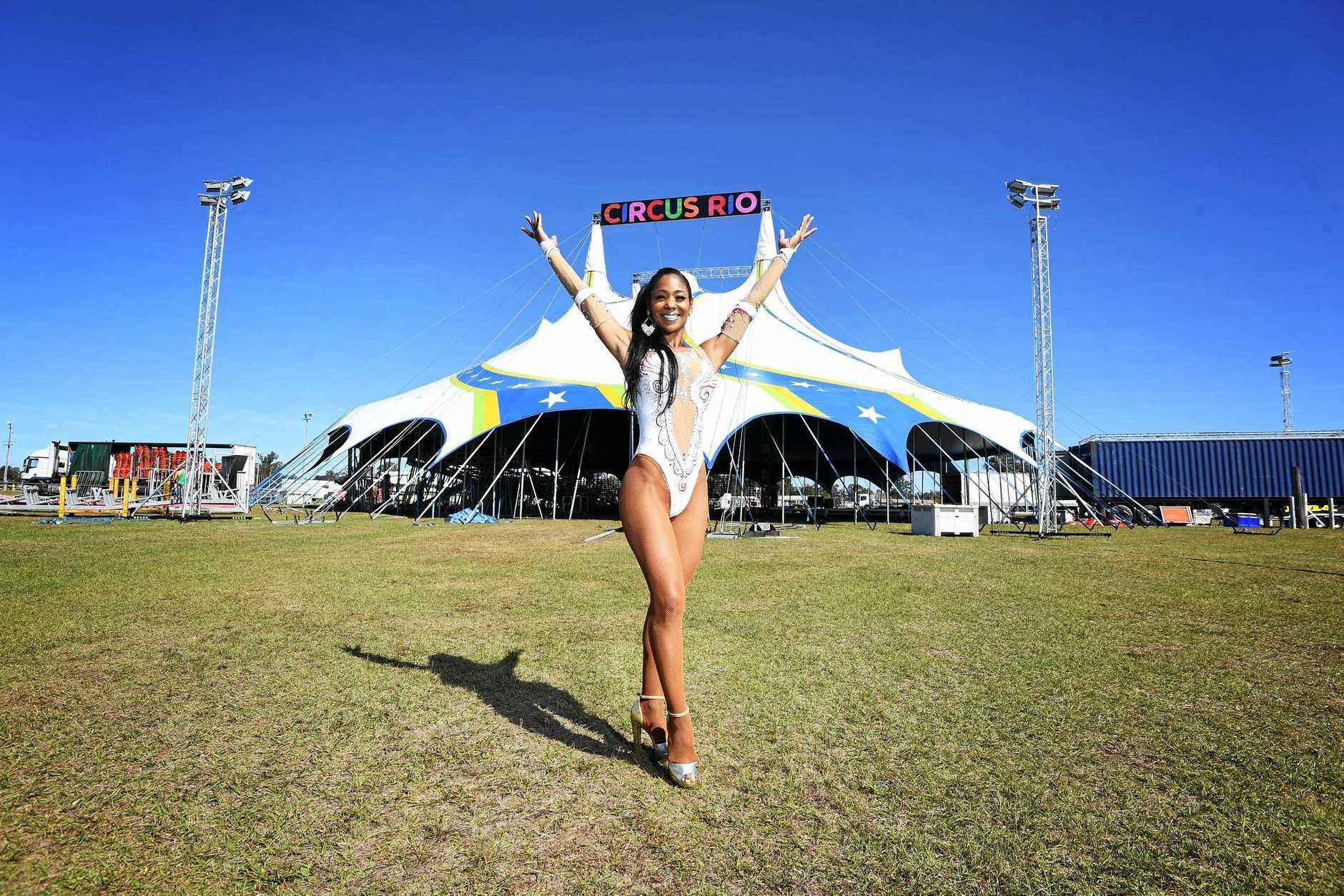 Circus Rio in Gympie Fabiana Fernandes.