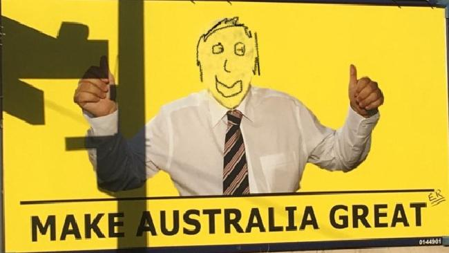 Clive Palmer is being attacked by vegans.