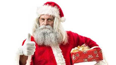 Steady on Santa, the faux war on Christmas is coming for you. (Pic: iStock)