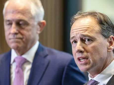 Health Minister Greg Hunt has been claiming the record has military grade security.