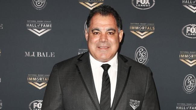 Mal Meninga deservedly joins the game's greats. (AAP Image/Brendon Thorne)