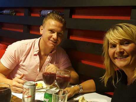 Mr McKeague and mum Nicola