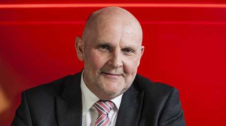 Holden boss Dave Buttner says it is premature to talk about a possible return to Number One. First they need to reverse the sales slide. Picture: Supplied.