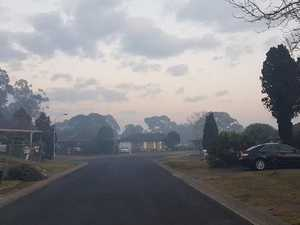 Sydney cloaked in smoky haze from Holsworthy bushfire