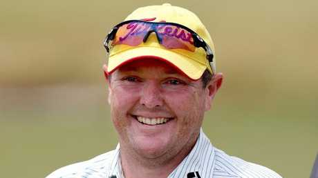 Jarrod Lyle is a much-loved character in the golfing world. Picture: Wayne Ludbey