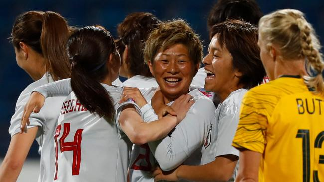 Just one goal was enough for Japan to win the Asian Cup from Australia. Pic: AFP