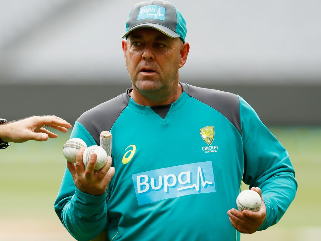 Former Australian cricket coach Darren Lehmann has reached out. Picture: Getty Images