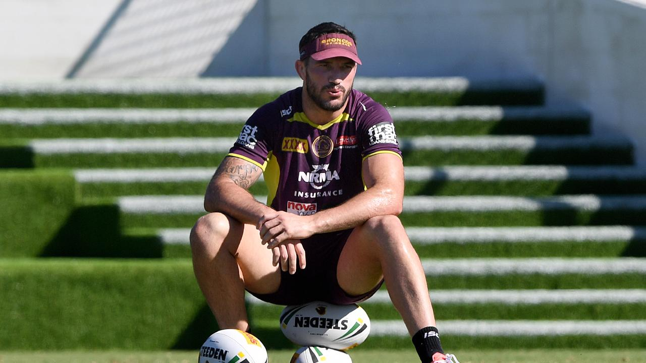 Matt Gillett is out for the season. (AAP Image/Dave Hunt)