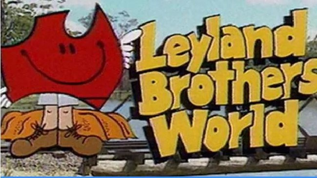 An old commercial for Leyland Brothers World.