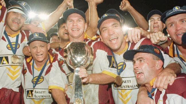 Part of the Broncos' triumphant 1997 side.