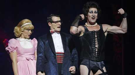 McKenney is appearing as Frank N' Furter in The Rocky Horror Show at Her Majesty's Theatre in Sydney until August 26. Picture: David Caird