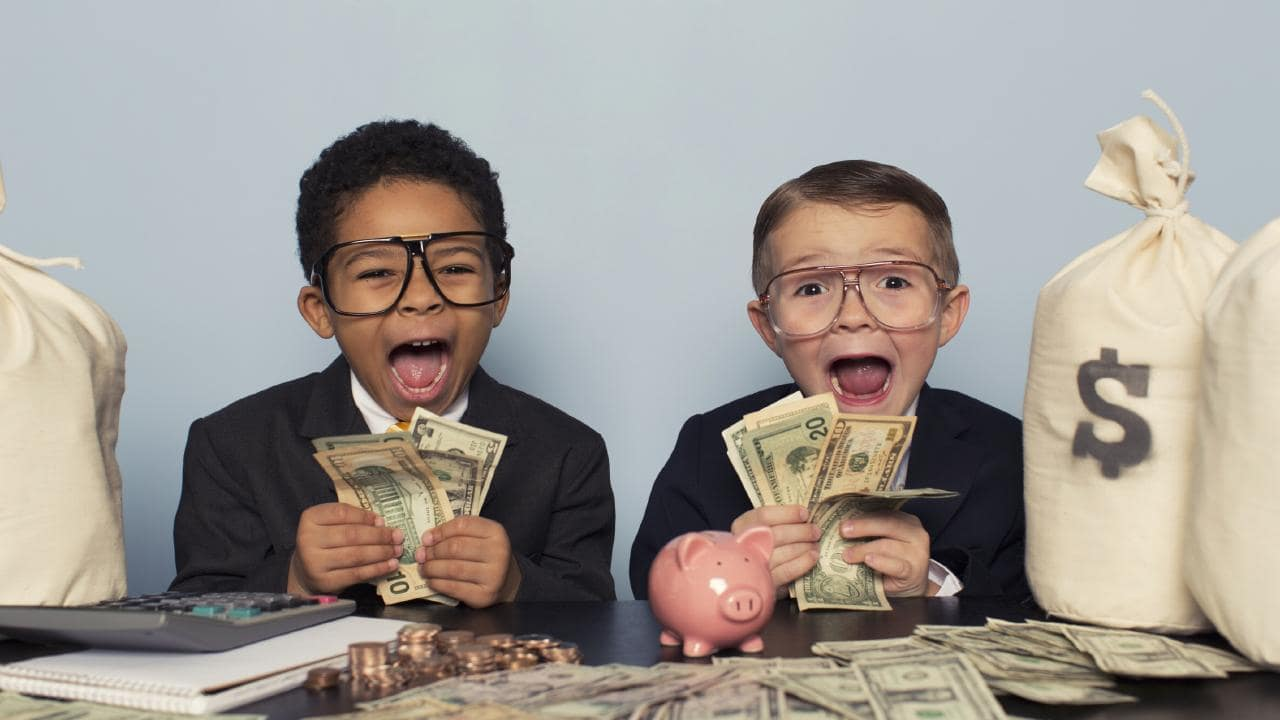 Australian children are becoming very good money managers. Picture: iStock